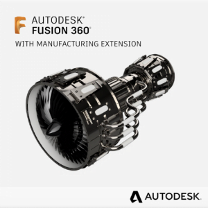 Autodesk Fusion 360 with Manufacturing Extension